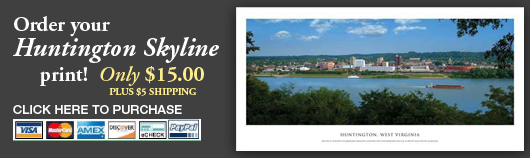 Purchase your own Huntington skyline print